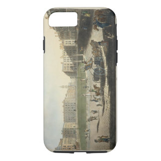 Hanover Square, engraved by Robert Pollard (1755-1 iPhone 8/7 Case
