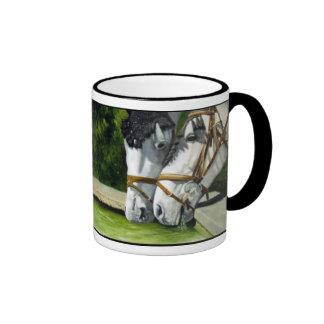 Hanoverian Horses Coffee Mugs