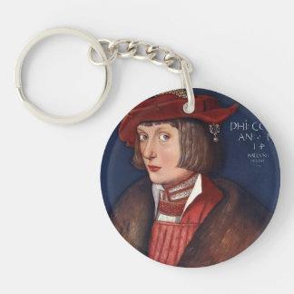 Hans Baldung: Count Philip Acrylic Key Chain