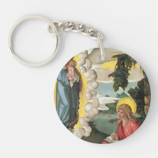 Hans Baldung: St John at Patmos Acrylic Key Chain