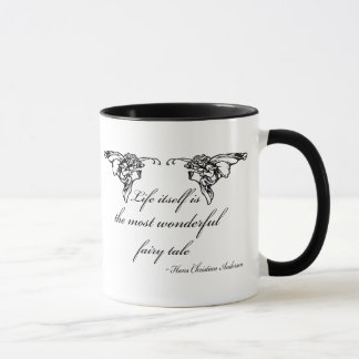 Hans Christian Andersen Fairy Tale Quote Gift Mug