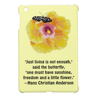 Hans Christian Anderson Butterfly iPad Mini Case