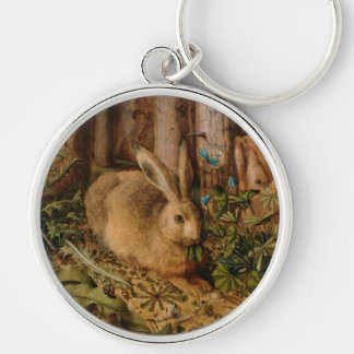 Hans Hoffmann A Hare In The Forest Keychains