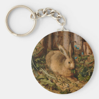 Hans Hoffmann A Hare In The Forest Key Ring