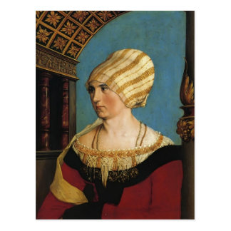 Hans Holbein- Portrait of Doprothea Meye Post Cards
