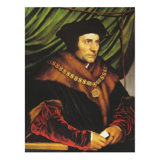 Hans Holbein - Portrait of Sir Thomas More