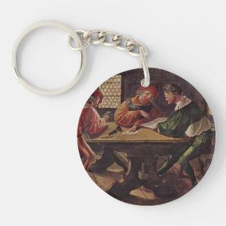 Hans Holbein - Signboard for a Schoolmaster Acrylic Key Chains