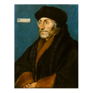 Hans Holbein the Younger Erasmus of Rotterdam Postcard