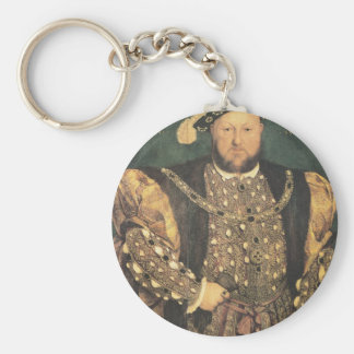 Hans Holbein the Younger Henry VIII Key Chain