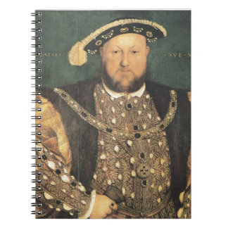 Hans Holbein the Younger Henry VIII Spiral Notebook