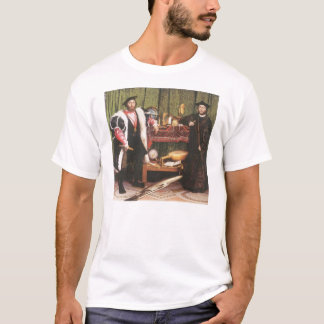 Hans Holbein the Younger- The Ambassadors, 1533 T-Shirt