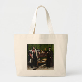 Hans Holbein the Younger's The Ambassadors Jumbo Tote Bag