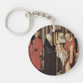 Hans Memling- Adoration of the Magi Acrylic Keychains