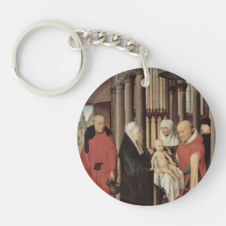 Hans Memling- Adoration of the Magi Acrylic Key Chain