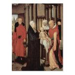 Hans Memling- Adoration of the Magi Postcard