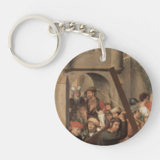Hans Memling-Altar triptych from Lübeck Cathedral Single-Sided Round Acrylic Keychain