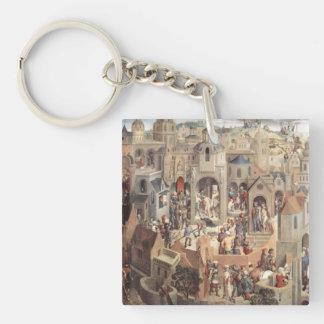 Hans Memling Art Acrylic Keychain