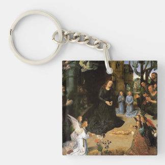 Hans Memling Art Acrylic Key Chains