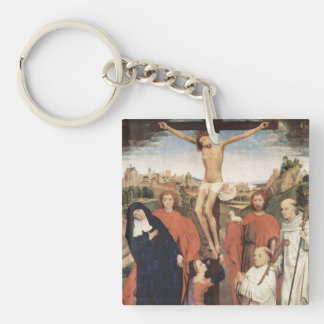 Hans Memling Art Key Chain
