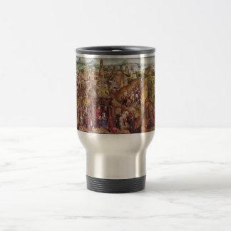 Hans Memling Art Stainless Steel Travel Mug