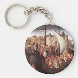 Hans Memling-Departure of Saint Ursula from Basle Keychains