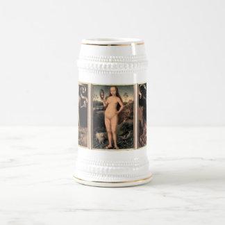 Hans Memling Earthly Vanity and Divine Salvation Beer Steins