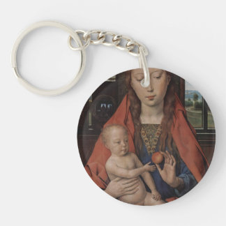 Hans Memling- Madonna and Child Acrylic Keychains