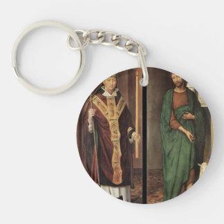 Hans Memling- Passion Altarpiece Key Chains