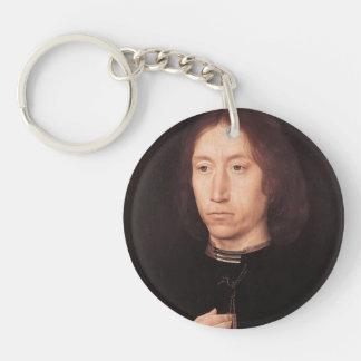 Hans Memling- Portrait of a Man Acrylic Keychains