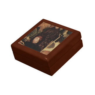 Hans Memling- Praying Donor with St. William Jewelry Box