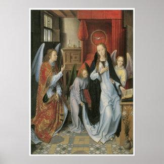 Hans Memling s Annunciation Poster