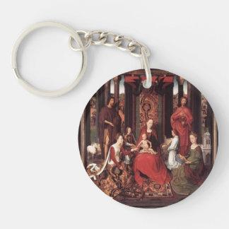 Hans Memling- St. John Altarpiece Key Chains