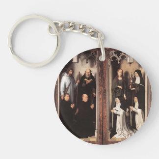 Hans Memling- St. John Altarpiece Acrylic Keychains