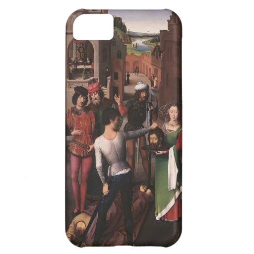 Hans Memling- St. John Altarpiece left wing iPhone 5C Covers