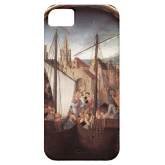 Hans Memling- St. Ursula and her companions iPhone 5 Case