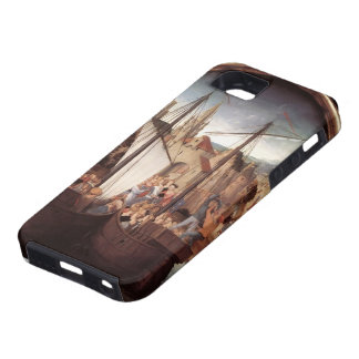 Hans Memling- St. Ursula and her companions iPhone 5 Cases