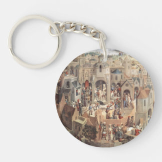 Hans Memling- The Passion Acrylic Key Chains