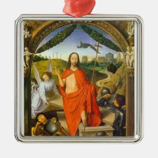 Hans Memling- Triptych of the Resurrection Christmas Tree Ornament