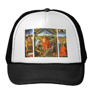 Hans Memling- Triptych of the Resurrection Mesh Hat