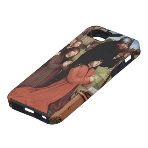 Hans Memling- Triptych of Willem Moreel, left wing iPhone 5/5S Case