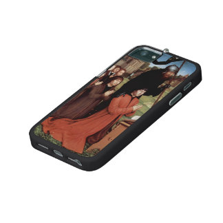 Hans Memling- Triptych of Willem Moreel left wing iPhone 5/5S Covers