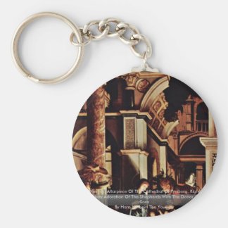 Hans Oberried Altarpiece Of The Cathedral Keychains