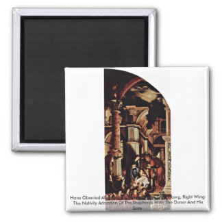 Hans Oberried Altarpiece Of The Cathedral Refrigerator Magnet