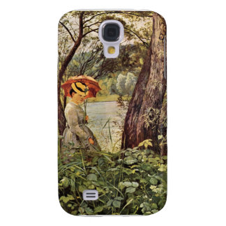 Hans Thoma - In the sunshine Galaxy S4 Covers