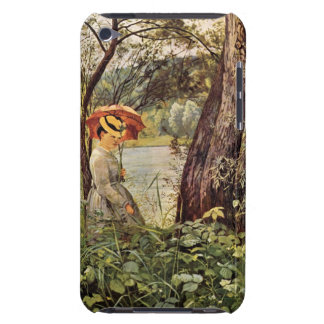 Hans Thoma - In the sunshine iPod Touch Case-Mate Case