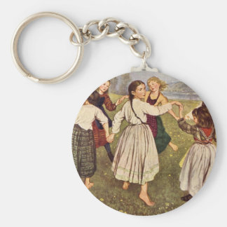 Hans Thoma - Kindergarden Key Chain
