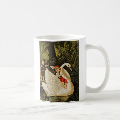 Hansel and Gretel and the Swan Coffee Mugs