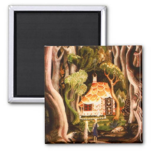 Hansel and Gretel Fairy Tale Magnet