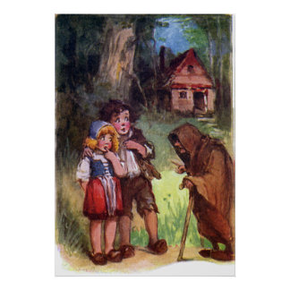 Hansel and Gretel Meet the Witch Poster