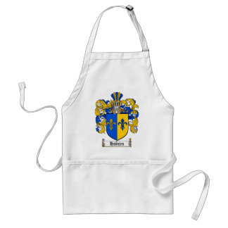 HANSEN FAMILY CREST -  HANSEN COAT OF ARMS ADULT APRON